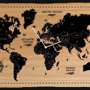 mindwood-plw01-planisfero-nautico-in-legno-con-orologio-centrale